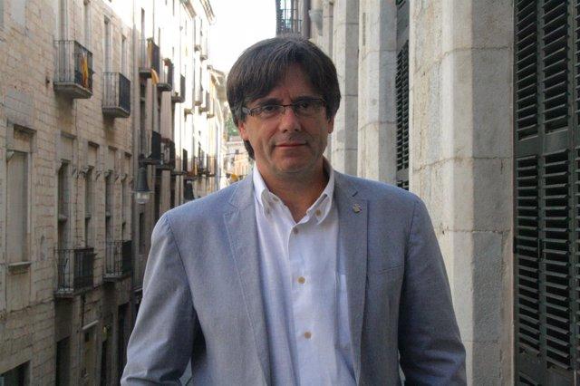 Carles Puigdemont, alcalde de Girona