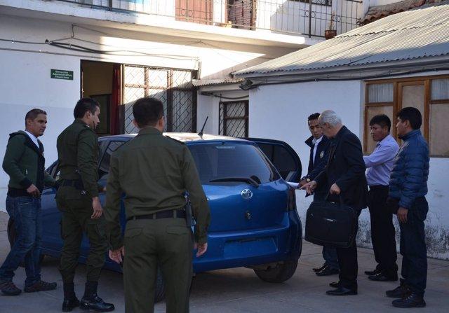 Detención del presidente de Federación Boliviana de Fútbol