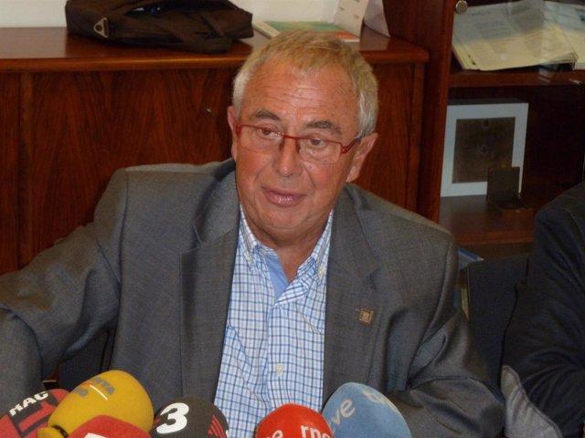 El presidente de la fundación Barcelona Comerç, Vicenç Gasca (Archivo)