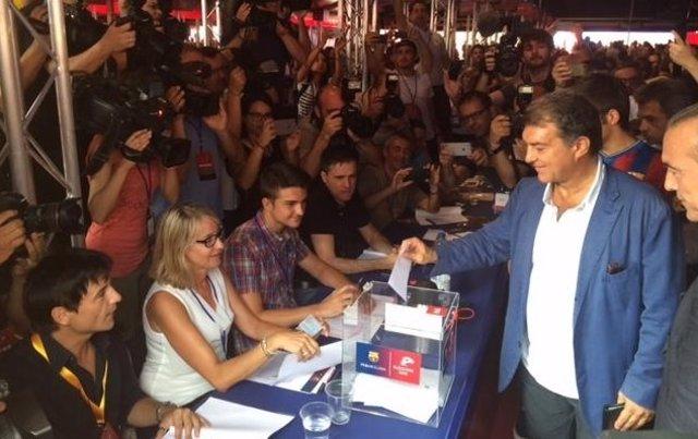 Joan Laporta elecciones FC Barcelona
