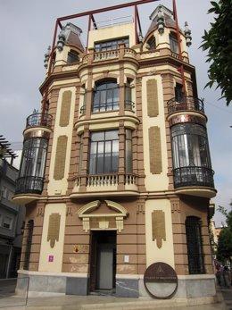 Sede del Colegio Oficial de Arquitectos de Huelva.