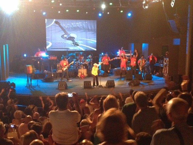 Concierto inauguración La Mar de Músicas 2015