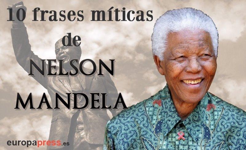 10 Frases Míticas De Nelson Mandela