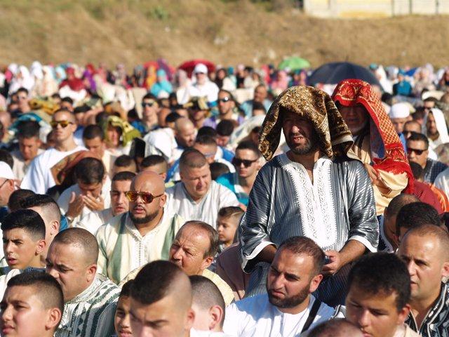 Rezo de musulmanes en Ceuta