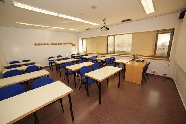 Una de las aulas formativas de la Cámara