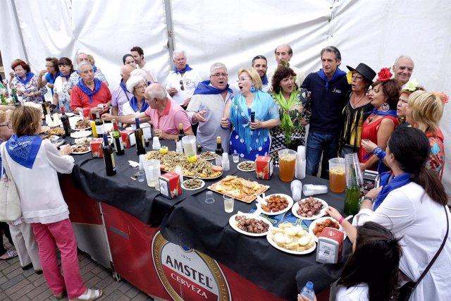 El alcalde en la Feria de Gastronomía Regional