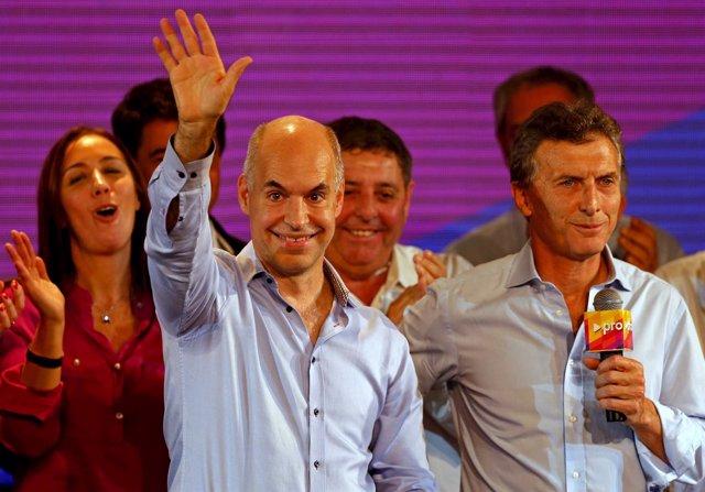 Rodriguez Larreta PRO y Mauricio Macri primarias Buenos Aires