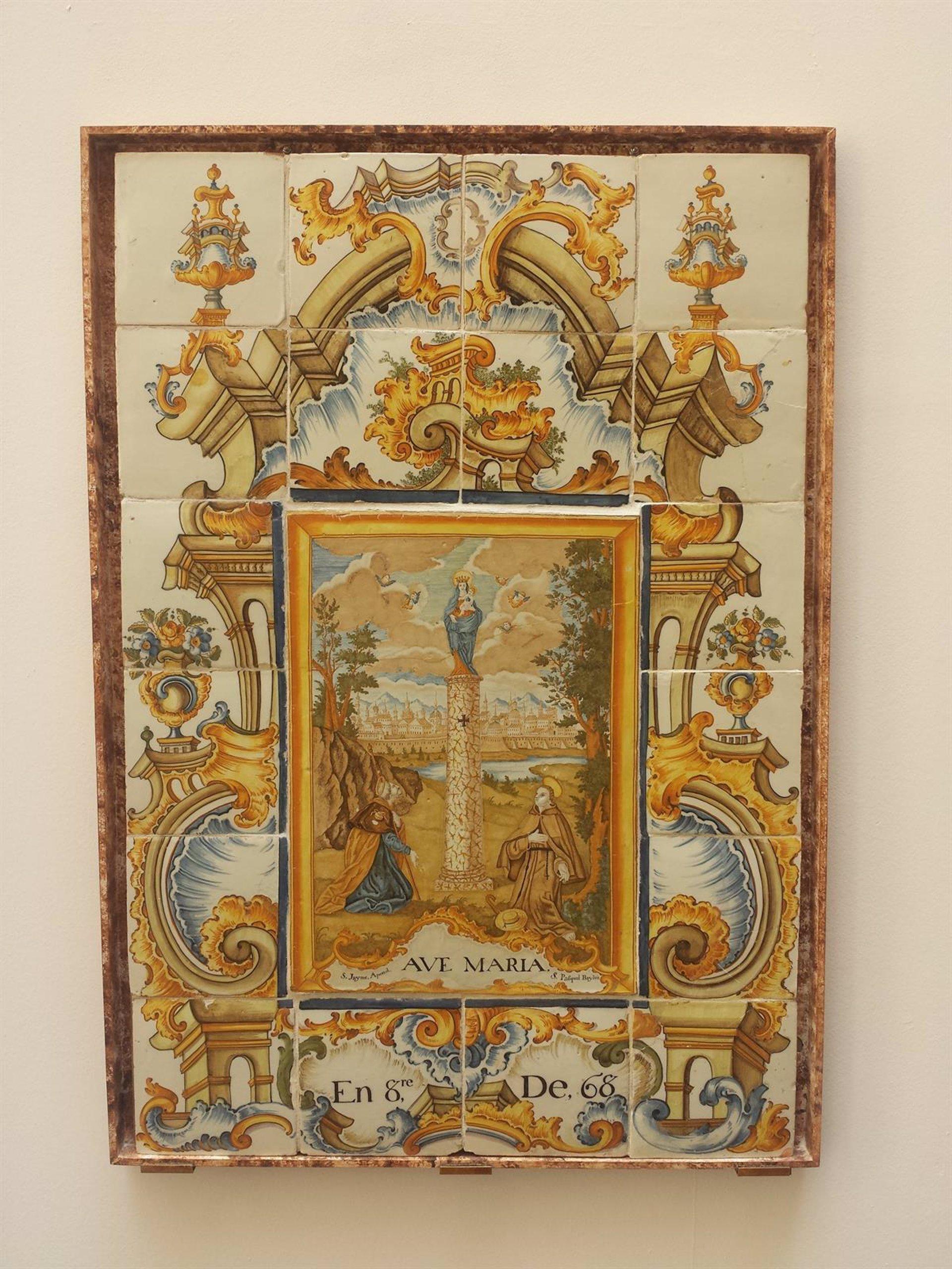 El retablo de la virgen del pilar una de las mejores - Azulejos el pilar ...