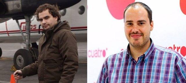 Los periodistas secuestrados en Siria Ángel Sastre y Antonio Pampliega