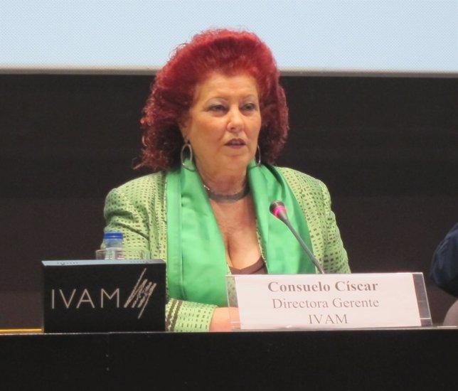 La Directora Del IVAM, Consuelo Ciscar