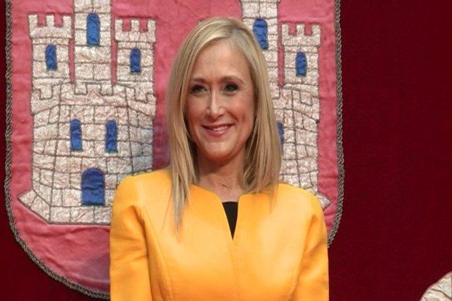 Cifuentes ya es presidenta de la Comunidad de Madrid