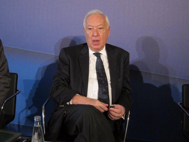 El ministro de Asuntos Exteriores y Cooperación, José Manuel García Margall