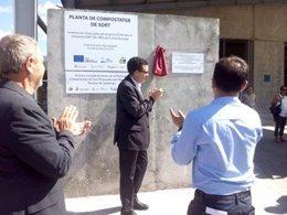 Josep Maria Tost ha inaugurado la planta de compostaje de Sort