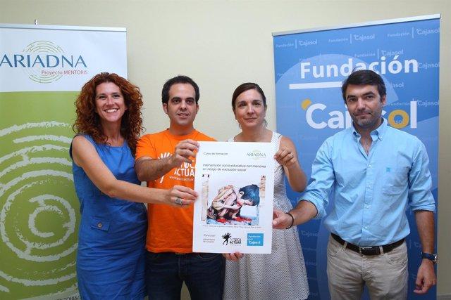 Convenio entre Fundación Cajasol y ONGD Tetoca Actuar