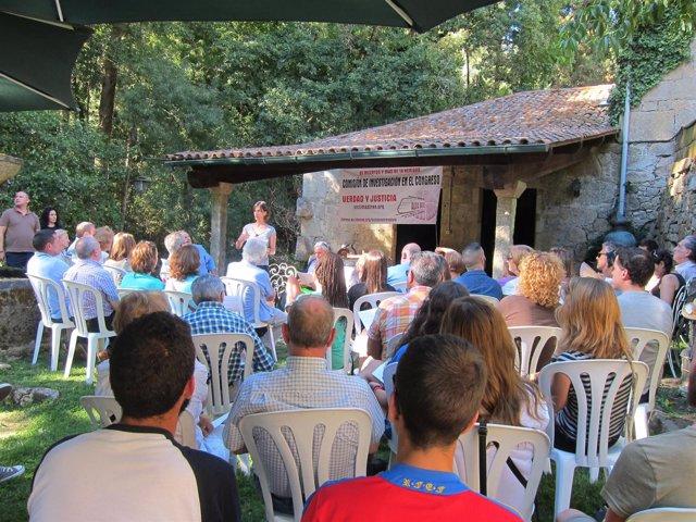 Asambleas De Víctimas Del Alvia En El Pazo De Faramello