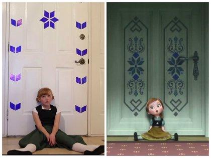 ¿Cómo sería 'Frozen' en la vida real? Estos vídeos te lo muestran