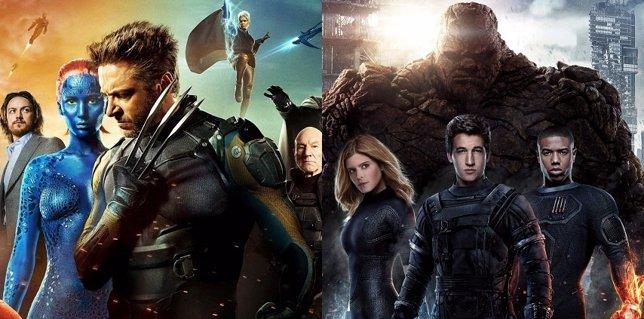 Imagen de los X-Men y los Cuatro Fantásticos