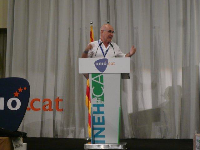 Duran durante la convención programática estratégica de UDC