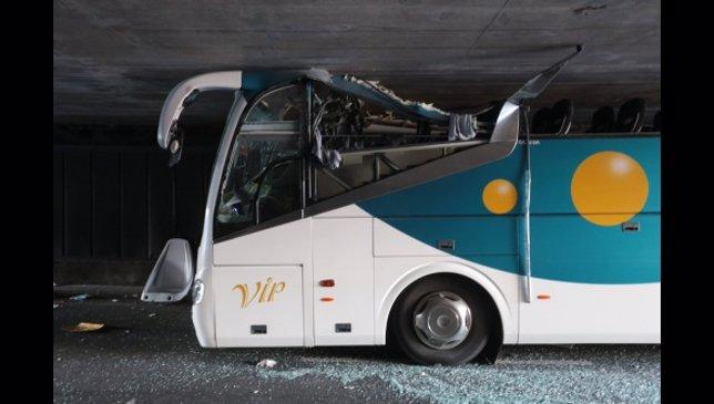Accidente de un autobús español en Francia