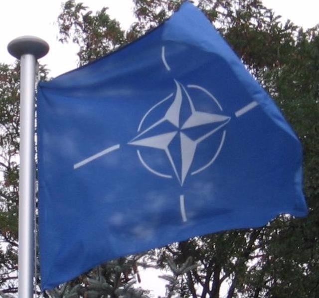 Bandera de la Alianza Atlántica