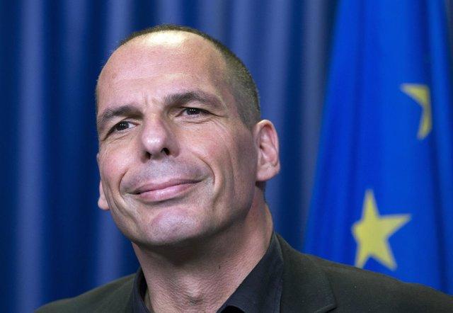 El ministro de Economía griego, Yanis Varoufakis