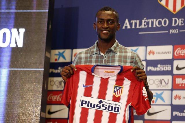 El nuevo fichaje del Atlético de Madrid Jackson Martínez