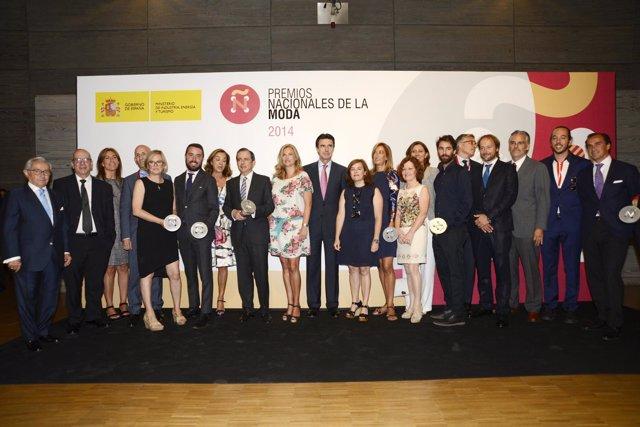 Inditex, Andrés Sardá, Premios Nacionales de la Moda 2014