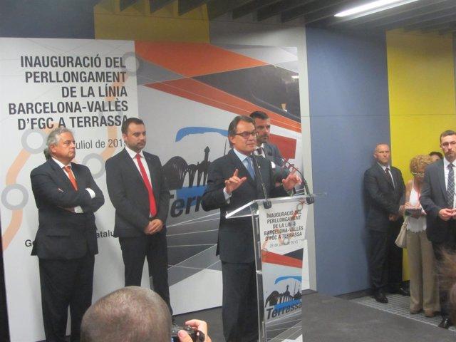 Terrassa organiza una jornada festiva para la inauguración de los nuevos FGC