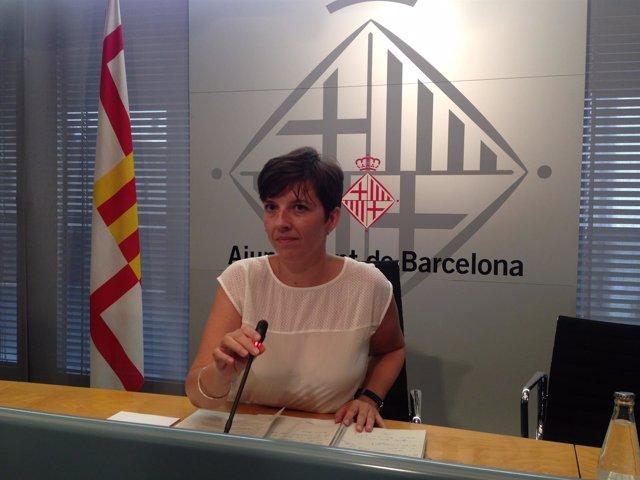 La teniente de alcalde Laia Ortiz