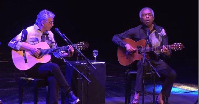 Gilberto Gil y Caetano Veloso