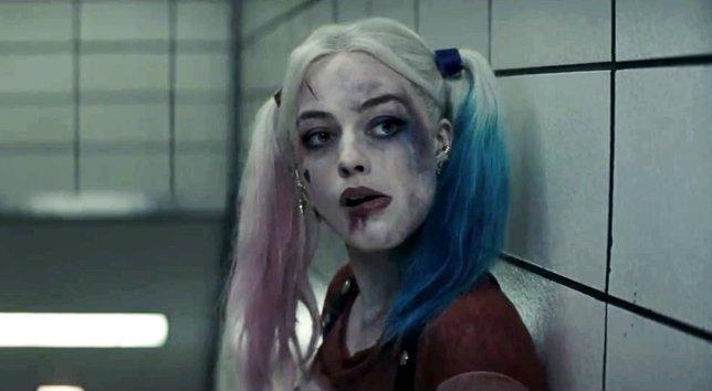 Harley Quinn (Margot Robbie) en Suicide Squad