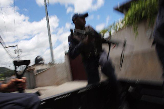 Violencia en Tegucigalpa, Honduras