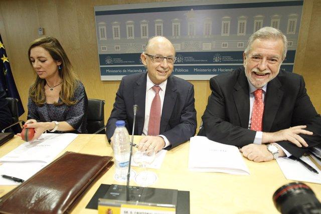 Montoro y Beteta en el Consejo de Política Fiscal y Financiera