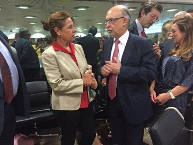 Pilar Blanco-Morales y Cristóbal Montoro