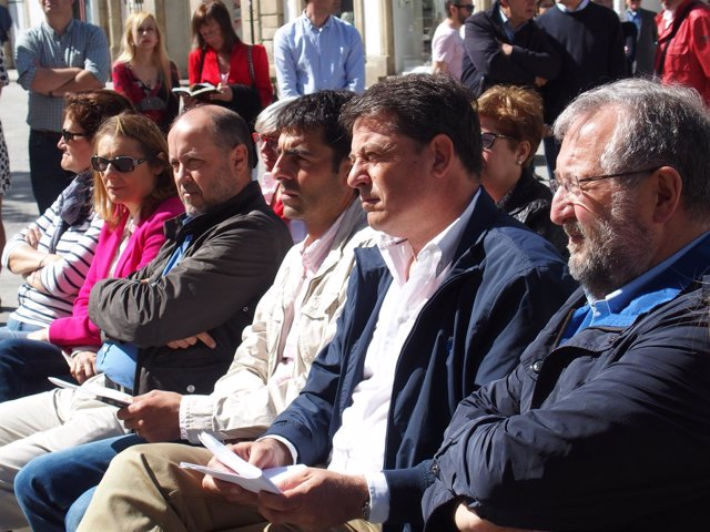 José Ramón Gómez Besteiro y Xosé López Orozco