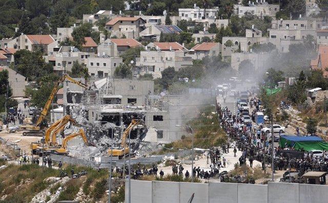 Asentamiento de nuevas viviendas en Beit EI