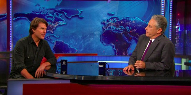 Tom Cruise en Daily Show