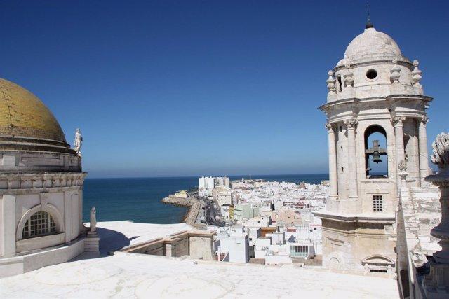 Torre del Reloj de la catedral de Cádiz