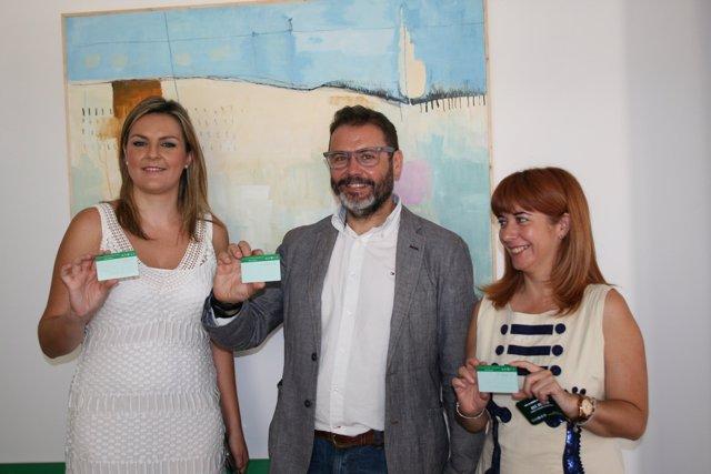 Las alcaldesas de Úbeda y Baeza con el Consorcio Metropolitano Transporte