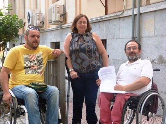 Fejidif presenta una queja en Fiscalía por un transporte urbano accesible