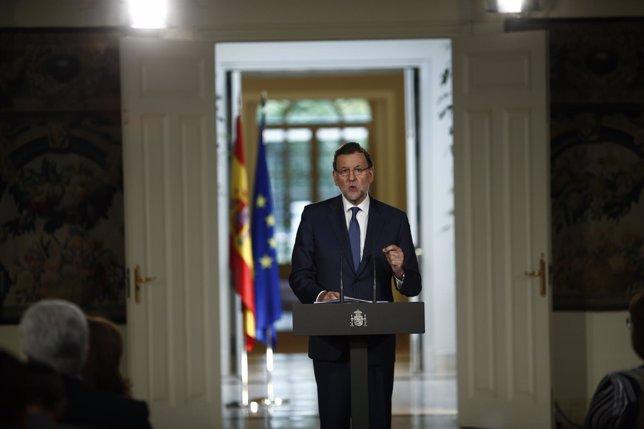 Mariano Rajoy hace balance de la legislatura