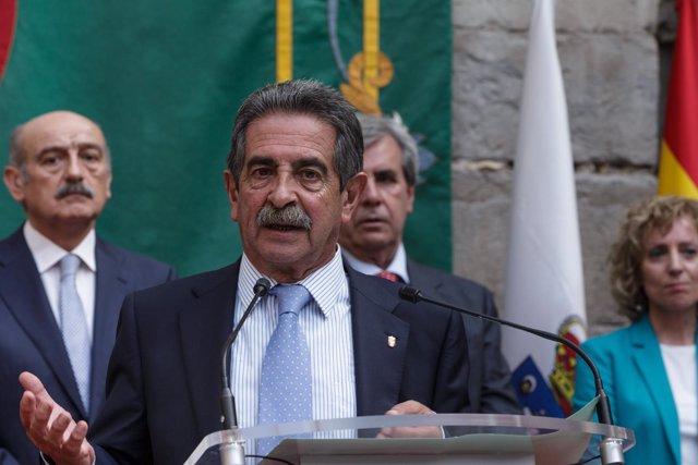 Miguel Ángel Revilla. Presidente de Cantabria