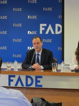 El director general de FADE, Alberto González