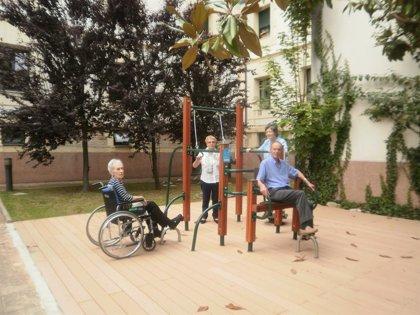 SARquavitae Villa Sacramento de San Sebastián estrena un parque 'Fitness' para mayores