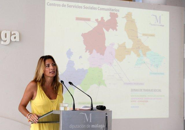 La diputada de Igualdad y vicepresidenta de la Diputación, Ana Mata.