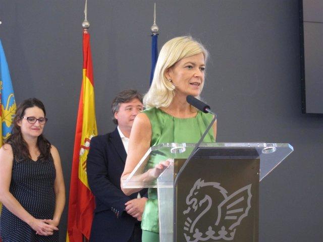 Consellera de Justicia, Gabriela Bravo