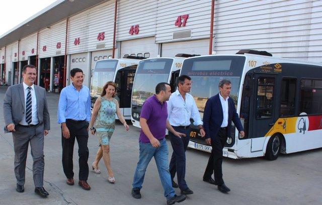 Cabrera visita Tussam
