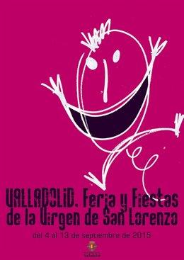 Cartel elegido para anunciar las Fiestas de la Virgen de San Lorenzo