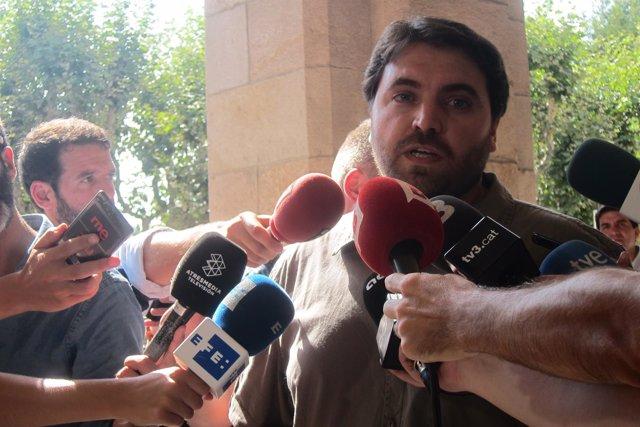 El número tres de la candidatura del PSC a la Generalitat, Ferran Pedret