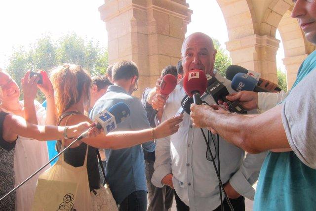 El candidato de Catalunya sí que es pot a la Generalitat, Lluís Rabell